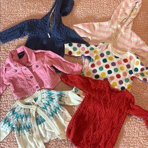 🌹2/$30 SALE🌹 6-12 Mo baby girl winter bundle